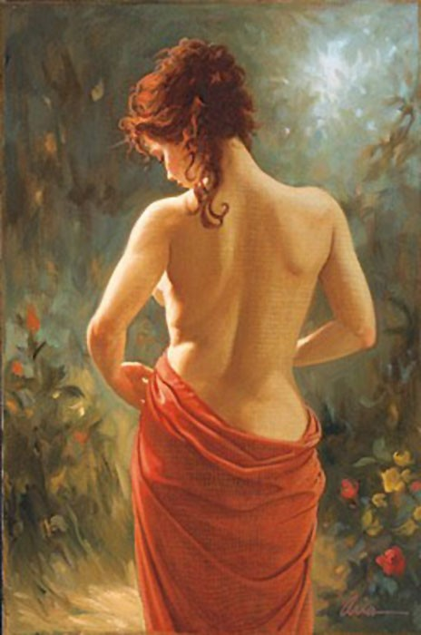 ArianAllure Giclee On Canvas
