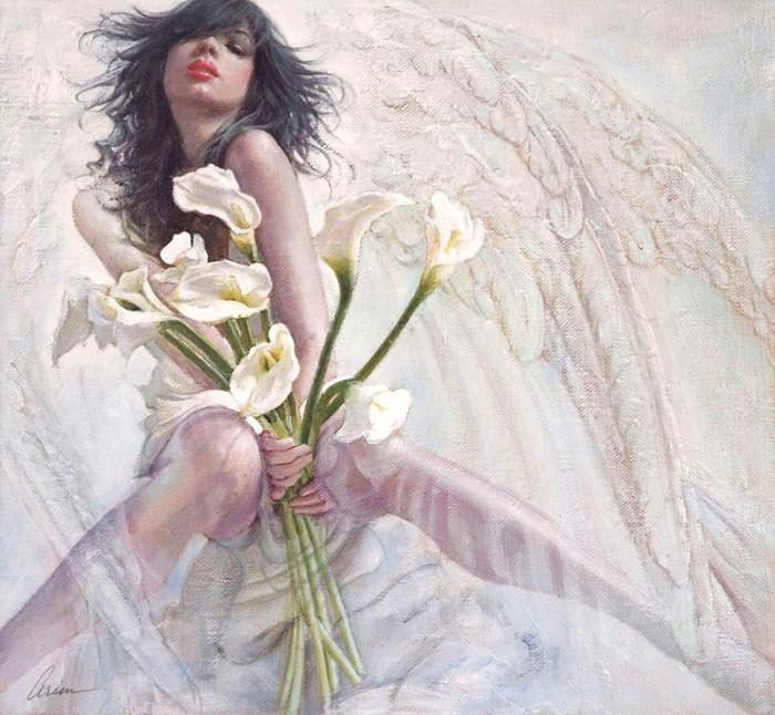 ArianAmaranthine Giclee On Canvas