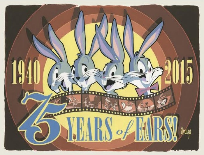 Mike Peraza 75 Years of Ears Giclee On Canvas