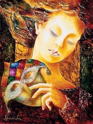 Alexandru DaridaThe Old MaskGiclee On Canvas