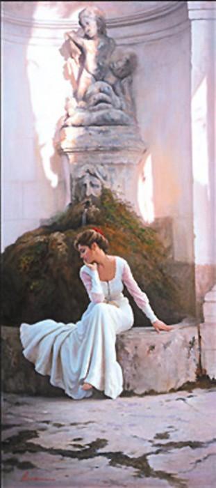 ArianThe Poetess Giclee On Canvas