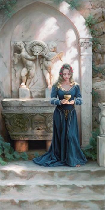 ArianInvitation to Rapture Giclee On Canvas