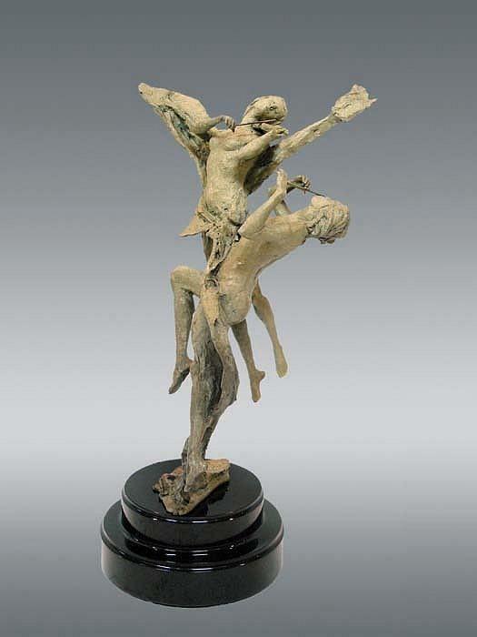 TuanAffectionBronze Sculpture