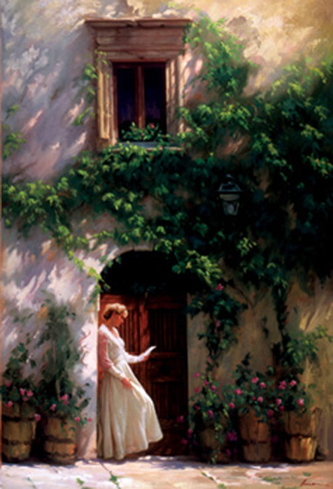 ArianTuscany Memories Giclee On Canvas