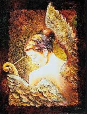 Alexandru DaridaWhisperGiclee On Canvas