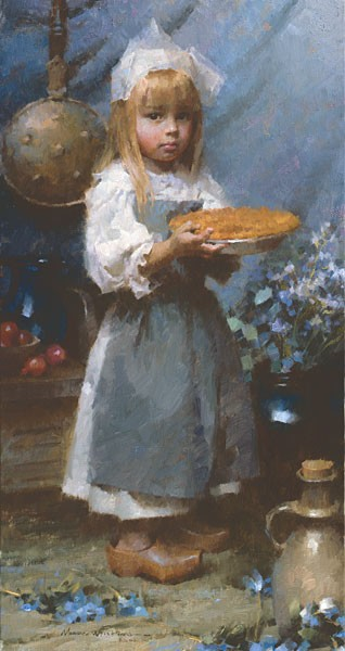 Morgan Westling Dutch Apple Pie SMALLWORK EDITION ON Canvas