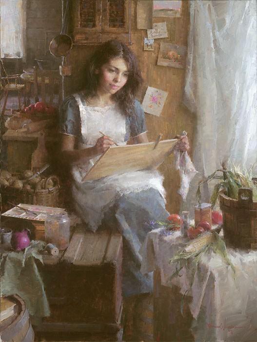 Morgan WestlingThe ArtistCanvas