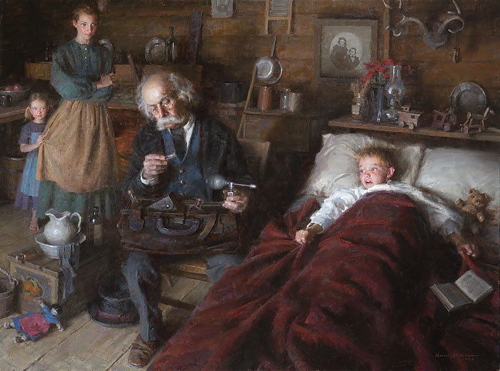 Morgan Westling The Country Doctor Limited Edition Print