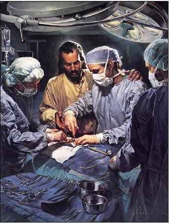 Nathan GreeneChief Of The Medical Staff Canvas Giclee