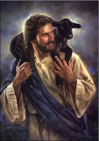 Nathan Greene The Good Shepherd Canvas Giclee