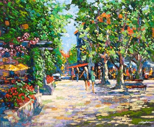 Kerry HallamSt Tropez Marketplace