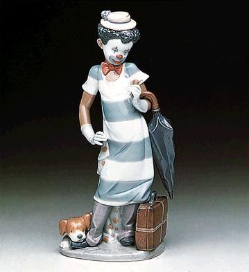 Lladro Black LegacyOn The MovePorcelain Figurine