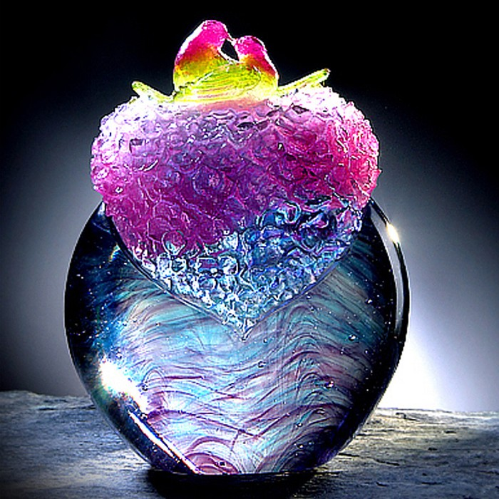 Liuli Crystal Lovely Birdy (Loyal Love) - My Heart Lives In Loves Nest