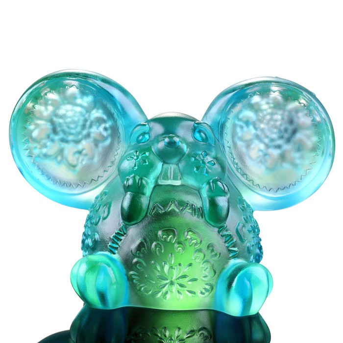 Liuli Crystal Zodiac Collection (Rat, Talented) - Come Fortune