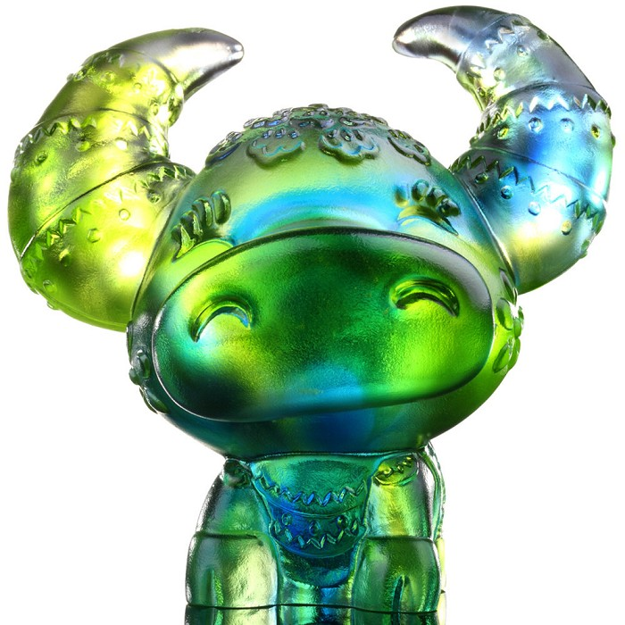 Liuli Crystal Zodiac Collection (Tiger, Courageous) - Little Valiant One