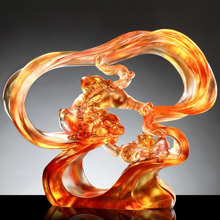 Liuli Crystal Mythical Creature (Favorable) - Convergence of Heroics