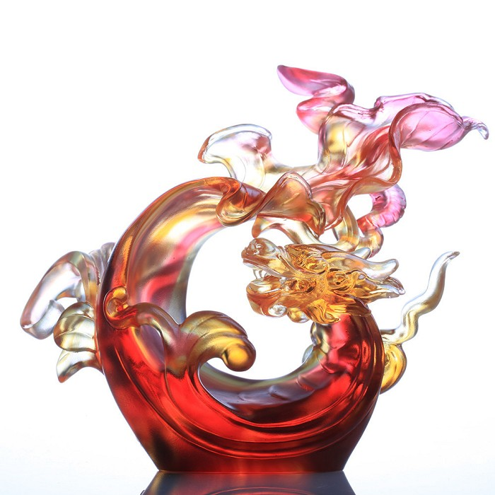 Liuli CrystalDragon of Courage - The New Dragon