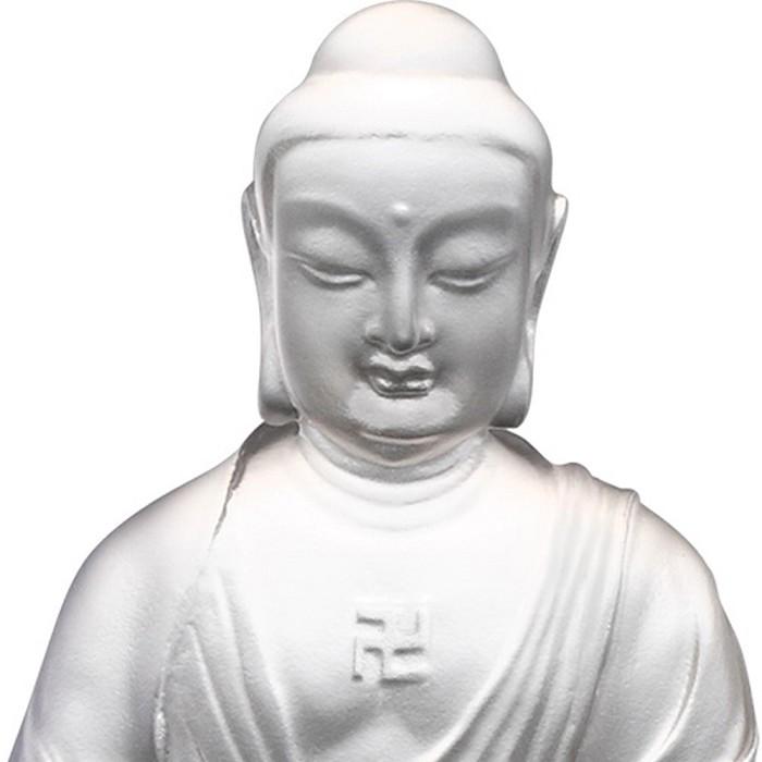 Liuli CrystalAmitabha Buddha - Buddha Figurine (Accompanied by Peace and Joy)