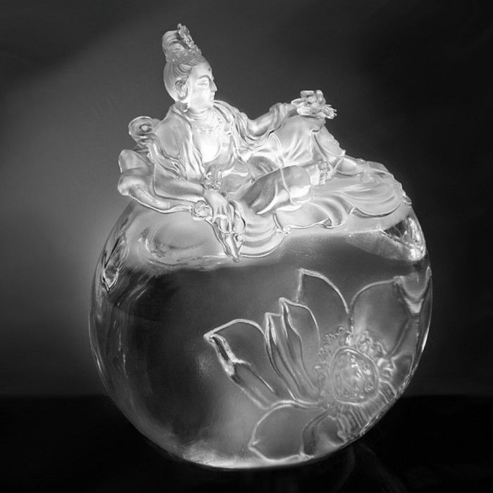 Liuli CrystalFulfillment of the Lotus