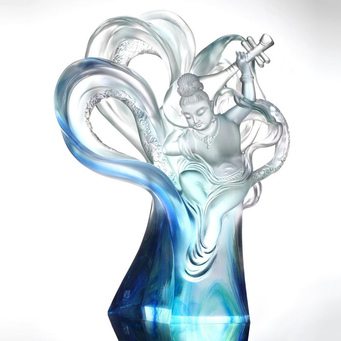Liuli Crystal Heavenly Dance of Peace