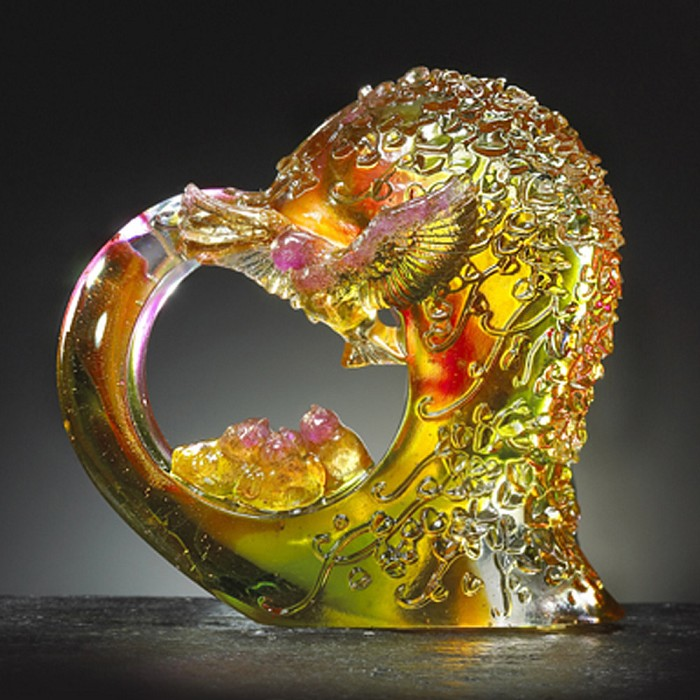 Liuli Crystal Lovely Bird (The Greatness of Love) - Blooms of Love