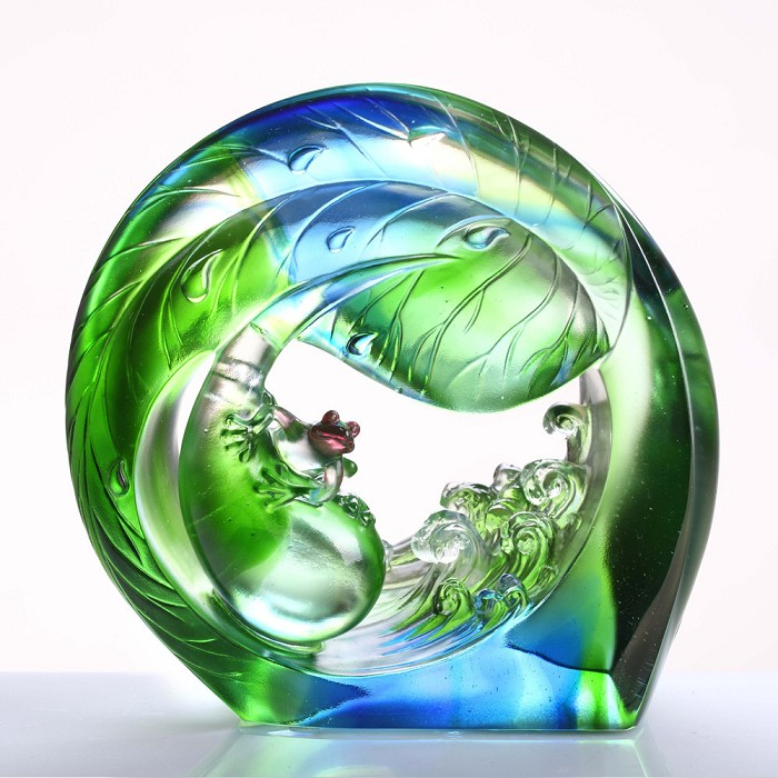 Liuli Crystal Hero in the Waves You and Me - Frog (Ambition)
