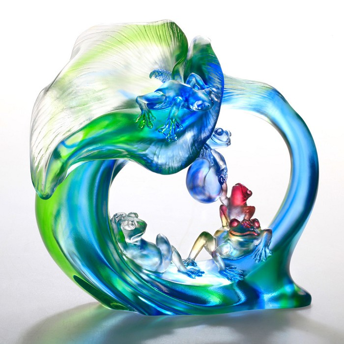 Liuli CrystalHerald, You and Me - Frogs (Trust in Friendship)