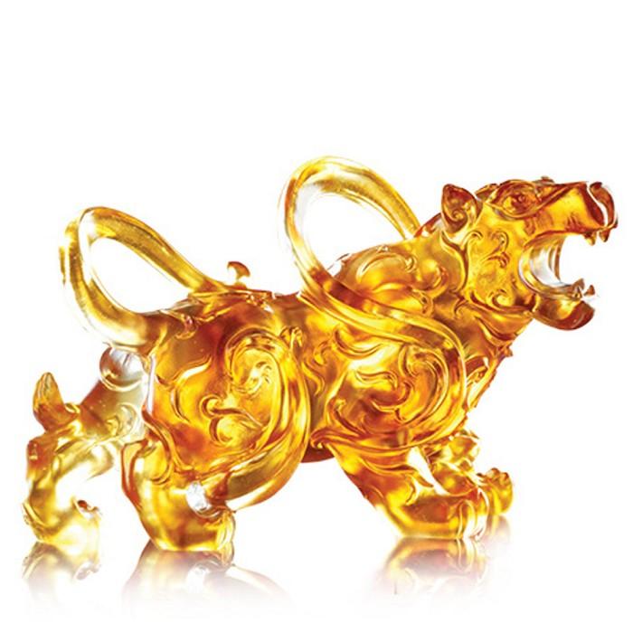 Liuli CrystalHeavenly Roar of the Exquisite Tiger