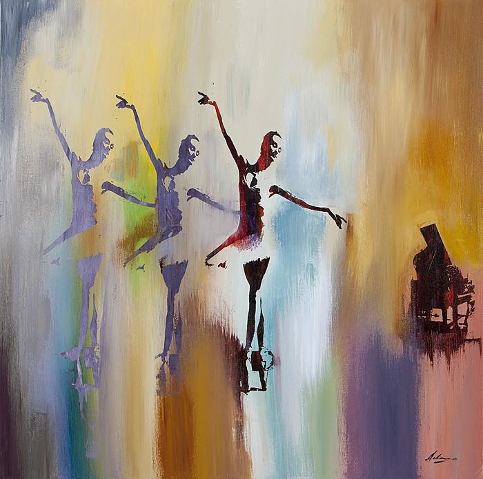 Pietro AdamoSola, La Prima BallerinaGiclee On Canvas