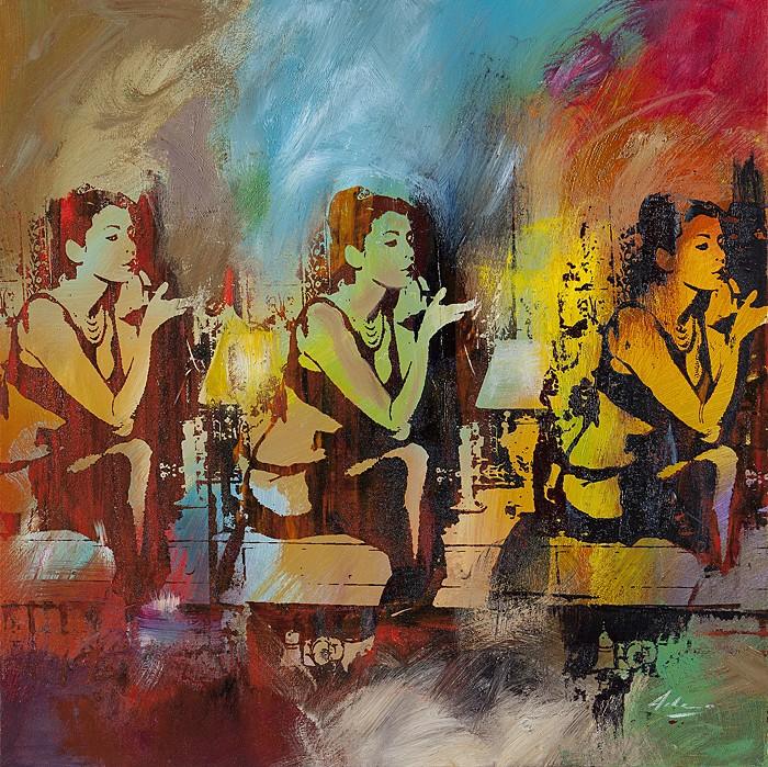 Pietro AdamoRossetto: La Luce VerdeGiclee On Canvas