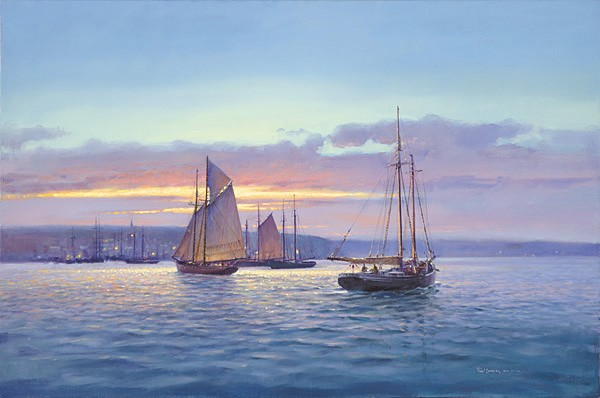 Paul Landry EVENTIDE Canvas