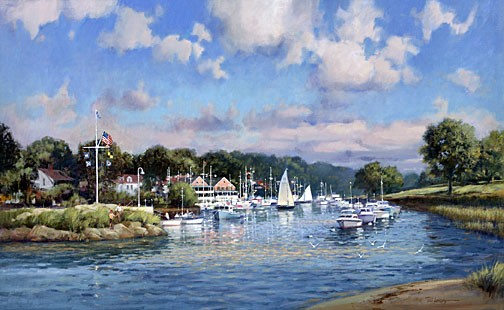 Paul Landry FAIRWINDS Canvas