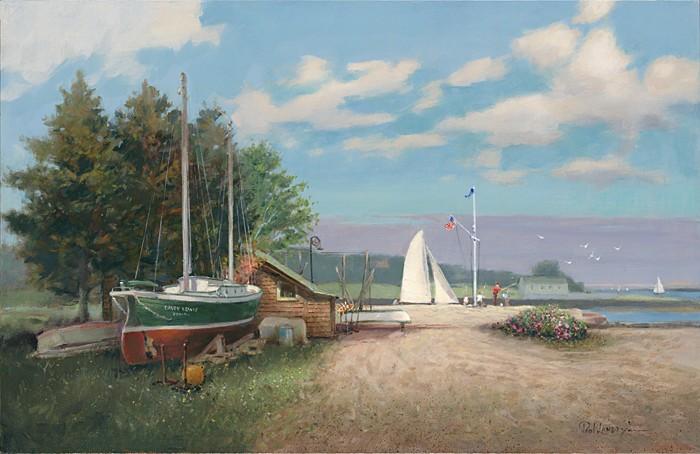 Paul LandrySouthport's TreasureGiclee On Canvas