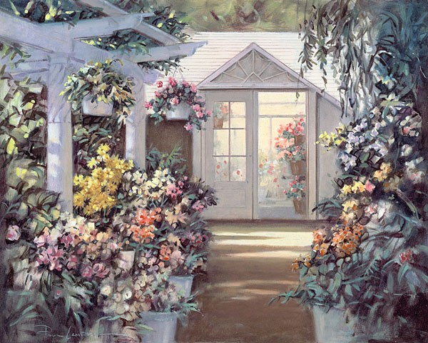 Paul Landry Greenhouse Canvas
