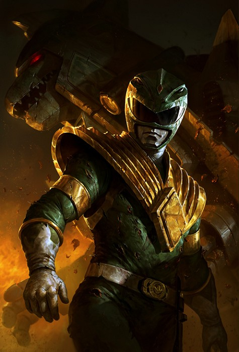 Dave Rapoza Green Ranger Giclee On Canvas