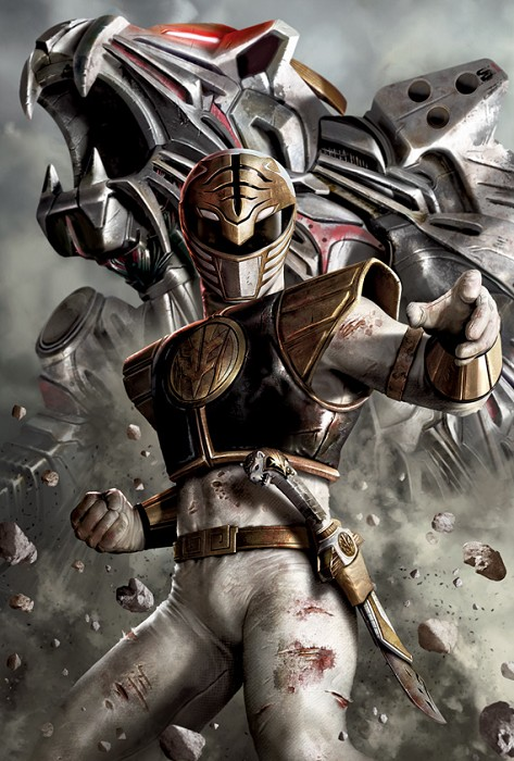 Carlos DattoliWhite RangerGiclee On Canvas