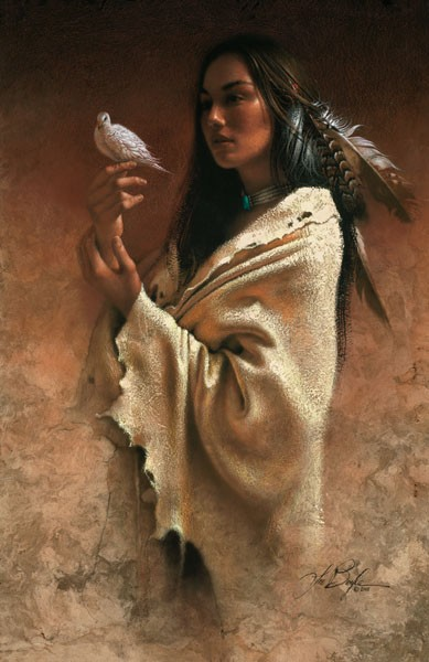 Lee Bogle Peace Giclee On Canvas