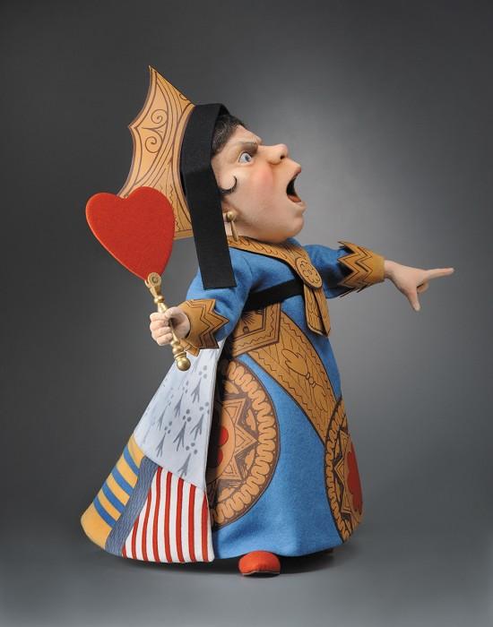 R. John WrightThe Queen Of Hearts From Alice In Wonderland