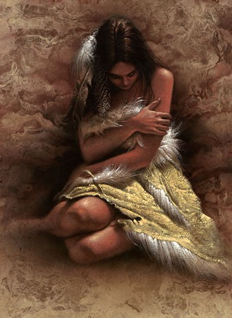 Lee Bogle Quiet Solitude Artist Proof Hand Enhanced Giclee On Canvas