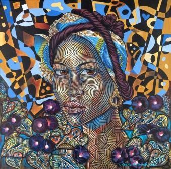 Rene DickersonStephanie MarieGiclee On Canvas