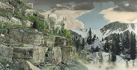 Rod FrederickOn the Rocks MASTERWORK EDITION ONCanvas