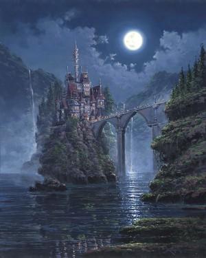 Rodel GonzalezSiege on Beasts CastleHand-Embellished Giclee on Canvas