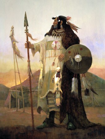 Ken Riley Legends Of The Mandan Limited Edition Print