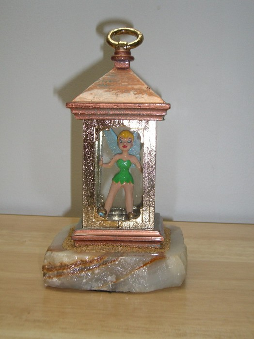 WDCC Disney ClassicsRon Lee Beauty And The Beast Tinker Bell In The Lantern(Open Box)