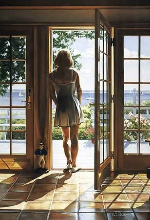 Tom Sierak Room With A View Giclee