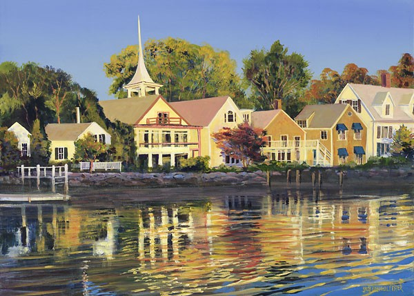 Sally Calwell FisherAfternoon Sunbath Limited Edition Canvas