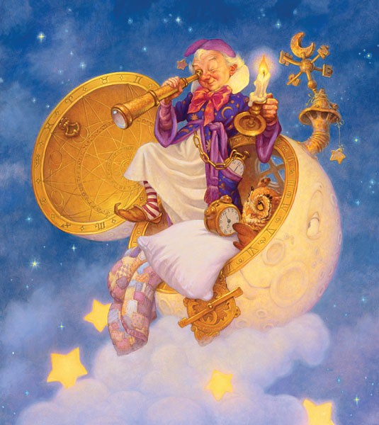 Scott GustafsonThe Man In The Moon, Limited Edition Canvas