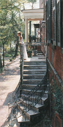 Steve Hanks A New Beginning MASTERWORK EDITION ON Canvas