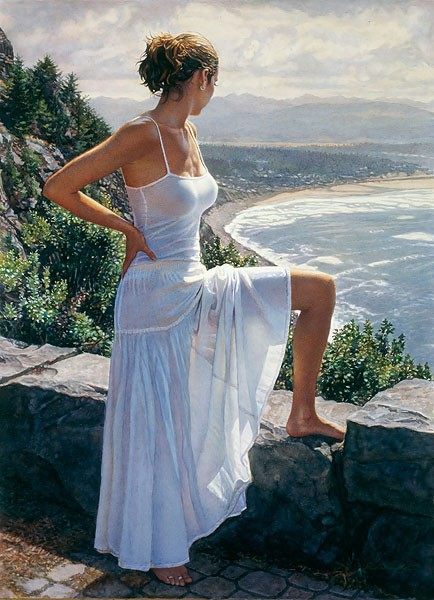 Steve Hanks Scenic View Limited Edition Print