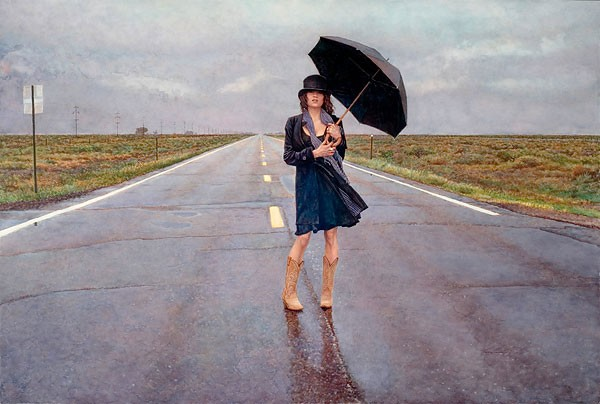 Steve Hanks The Road Less Traveled MASTERWORK EDITION ON Canvas